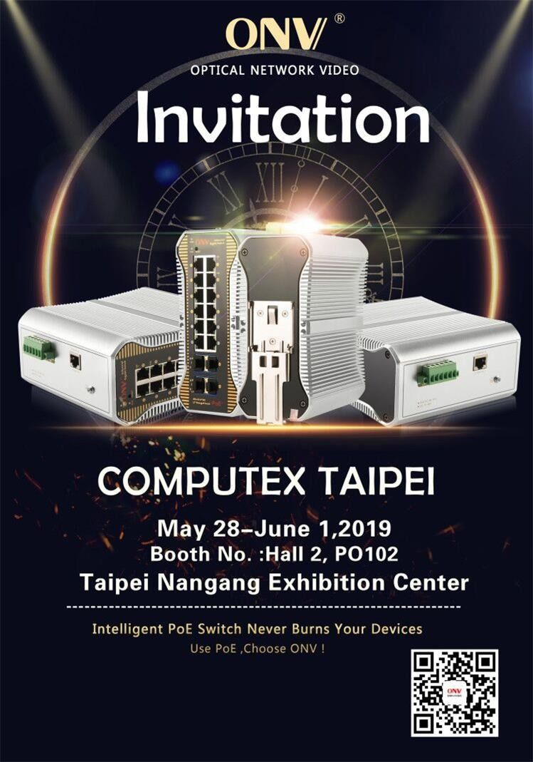 Computex Taipei Network Solutions Surveillance System Switch