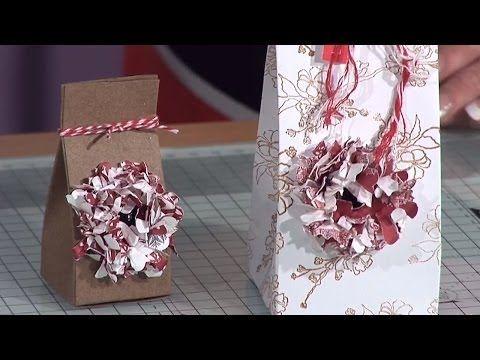 Paper Flower Gift Box Tutorial | docrafts Creativity TV - YouTube