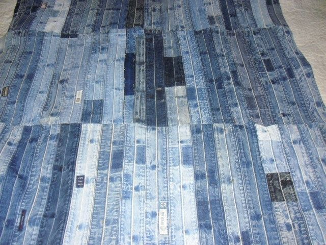 Pictures Of Blue Jean Quilts Recycled Blue Jean Quilt