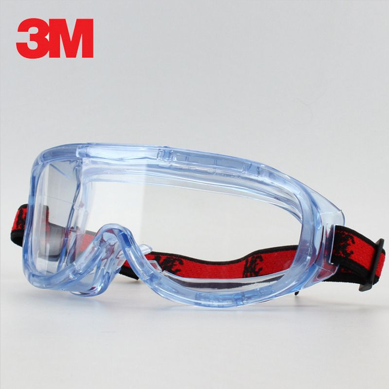 1adac6caf4 3M 1623AF Anti-Impact and Anti chemical splash Glasses Goggle Safety  Goggles Economy clear Anti-Fog Lens Eye Protection Labor