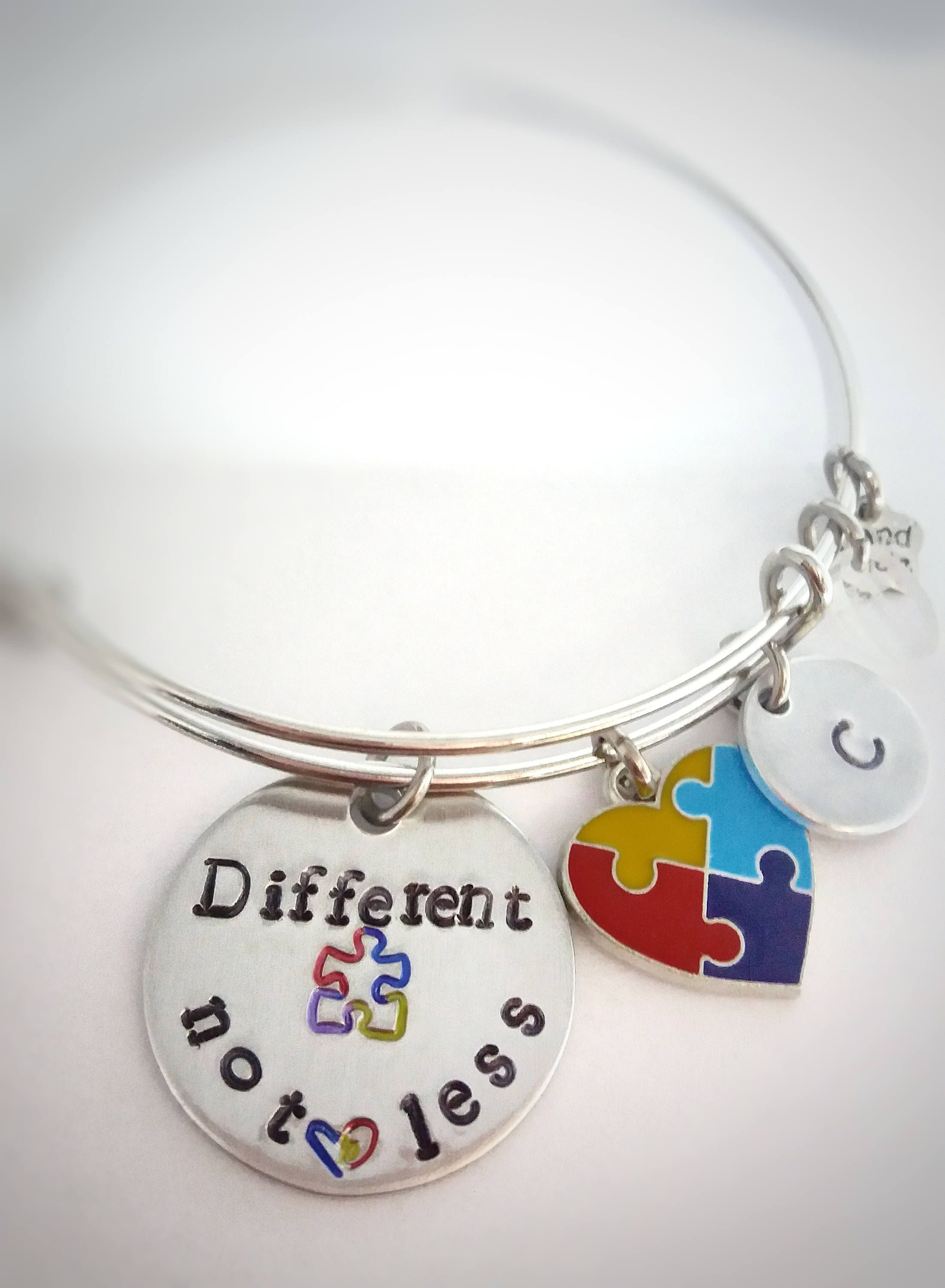 bulk puzzle b of bracelets jewelry bracelet pieces awareness autism the