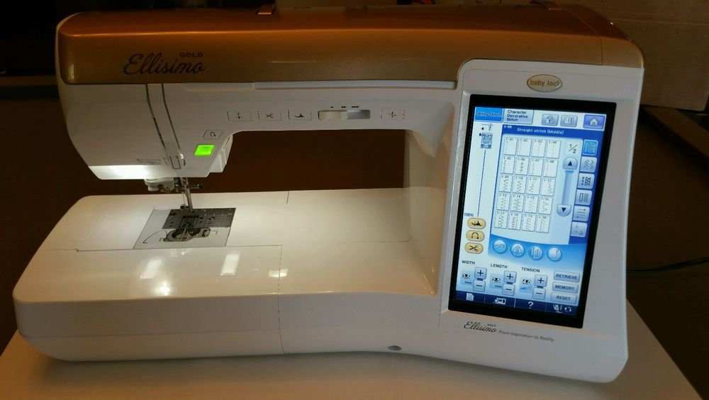 Babylock Ellisimo Gold Embroidery And Sewing Machine Only 4040 Stunning Ellisimo Sewing Machine