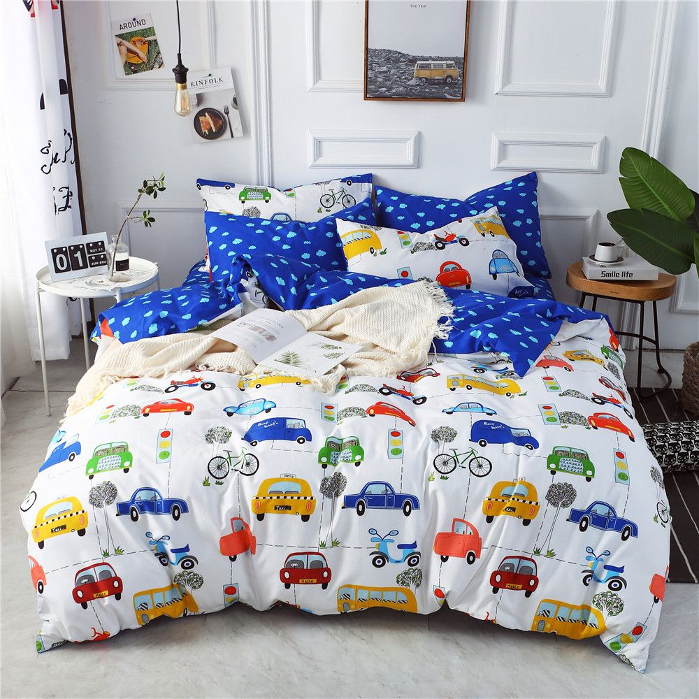 Bedding sets come in a variety of different sizes, so make