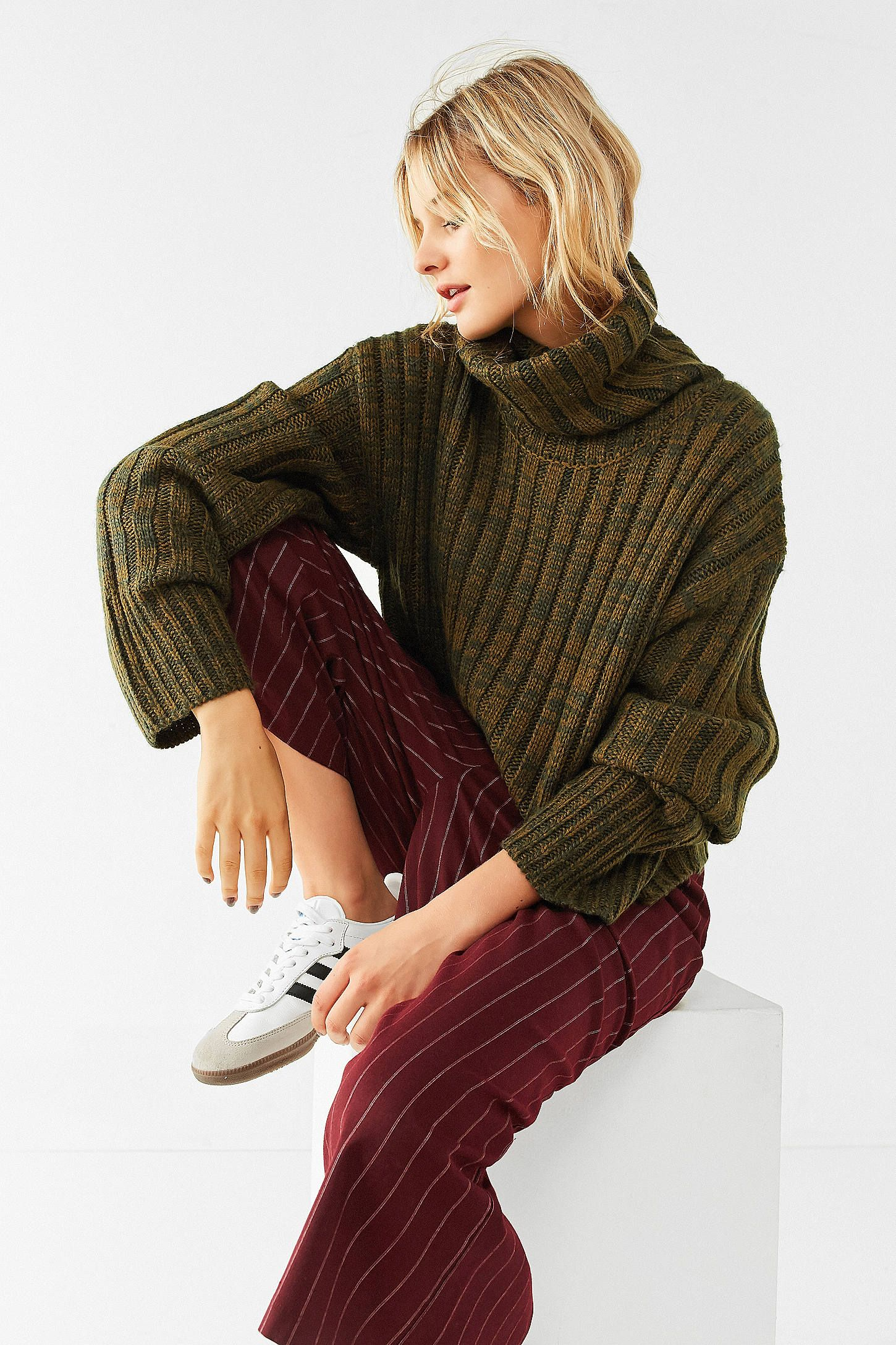 2ecb9899f Shop BDG Chunky Turtleneck Sweater at Urban Outfitters today. We ...