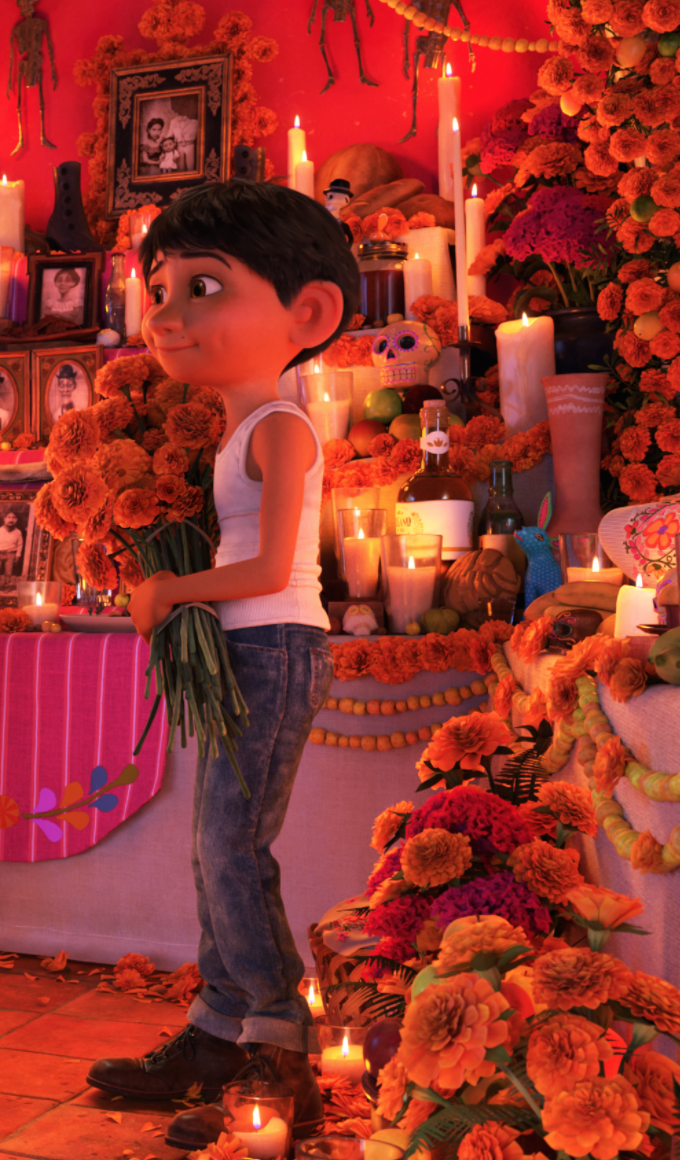 Pixar Coco Movie Saw This With My Mom Its So Sweet -2535