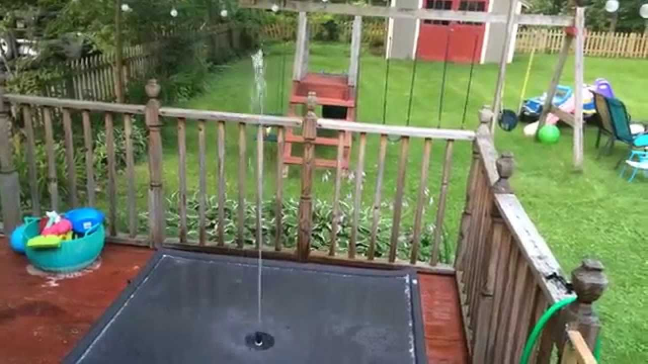 Splash Pad How To Splash Pad Diy Splash Pad Backyard Splash Pad Backyard diy water park