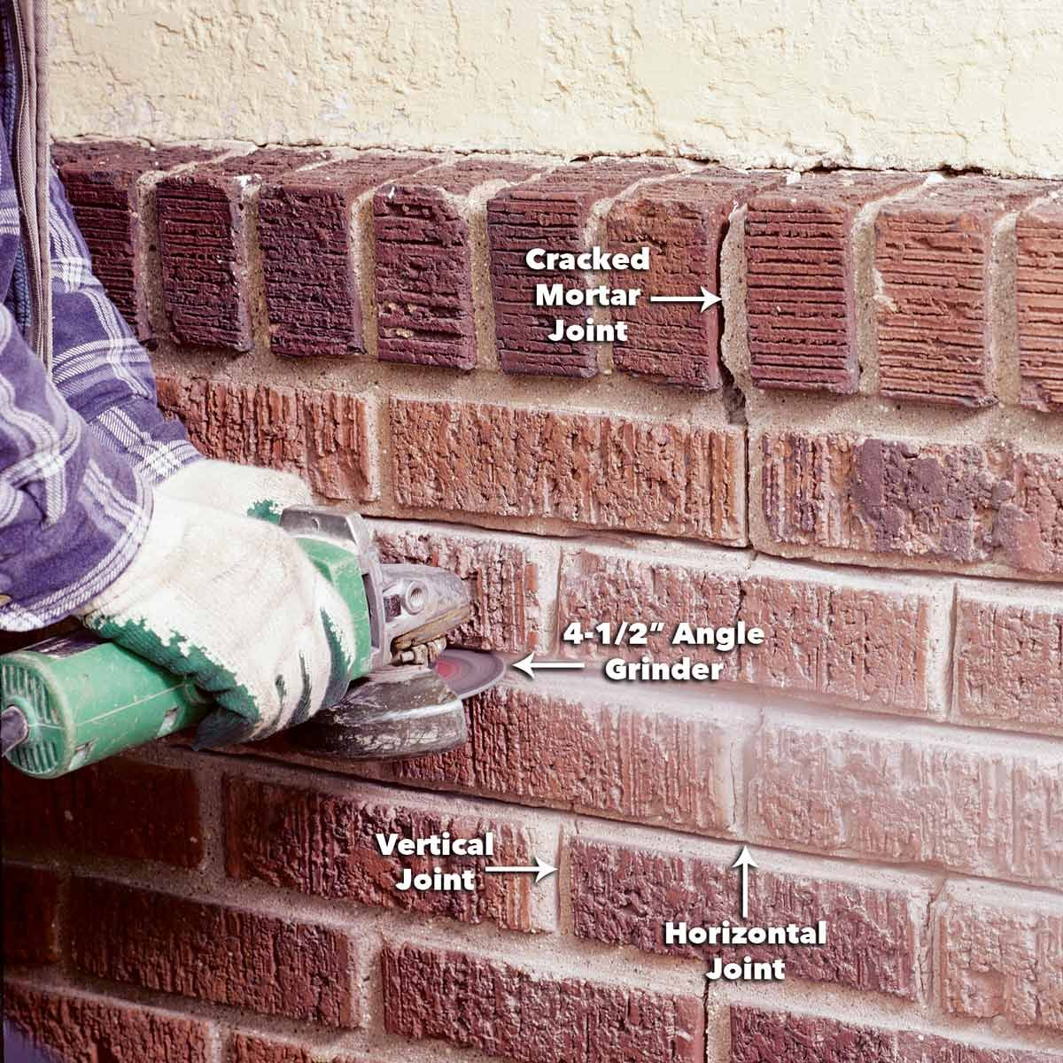How To Repair Mortar Joints Mortar Repair Brick Repair Mortar