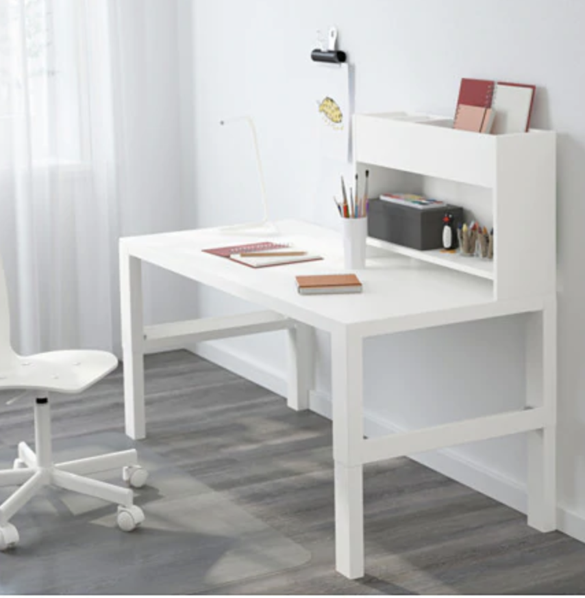 Pahl Desk With Add On Unit White 50 3 8x22 7 8 Order Today Ikea Ikea Ikea Desk Furniture