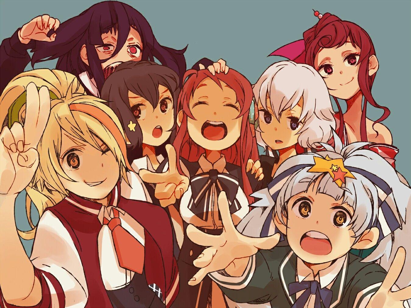 Pin de Jdoom en Franchouchou Caras anime, Arte de anime