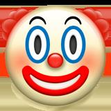 Clown Face Emoji On Apple Ios 10 2 Clown Faces Ios Emoji Emoji