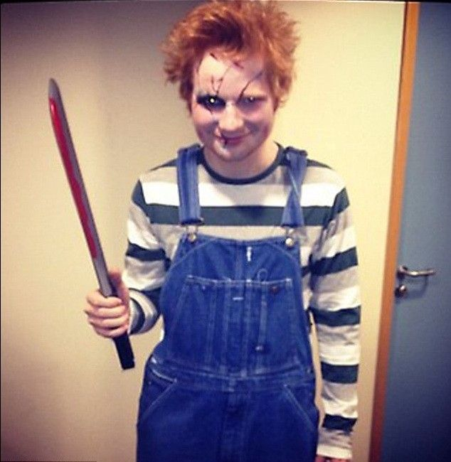 ed sheeran and the perfect ginger halloween costume one direction