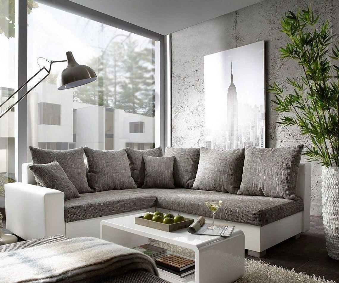 Fantastisch Inspiration Wohnzimmer Grau Weiß