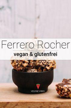6-Zutaten Ferrero Rocher (vegan, glutenfrei) Rezept #glutenfreierezepte