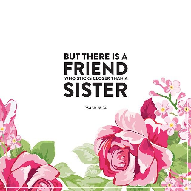 Bible Verse For A Freind: A Beautiful Description Of Godly Friendship. {Should Say