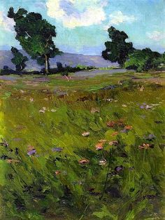 Landscape Jonas Lie - circa 1910 art, artwork, paintings