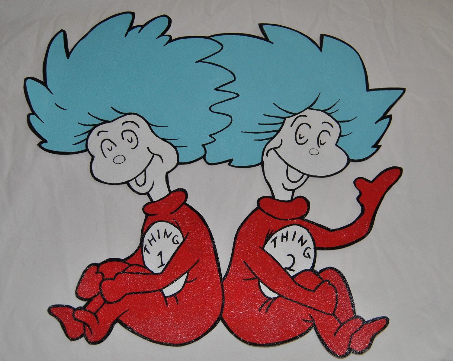 photograph relating to Thing 1 and Thing 2 Printable Clip Art identified as Matter A person And Factor 2 Clip Artwork Dr Seuss Detail 1 Matter 2