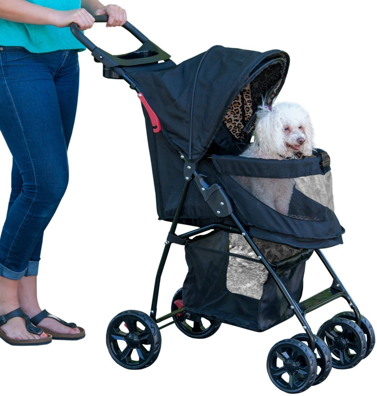 Happy Trails Lite NO ZIP Pet Stroller Color Jaguar Additional Info Dog Strollers