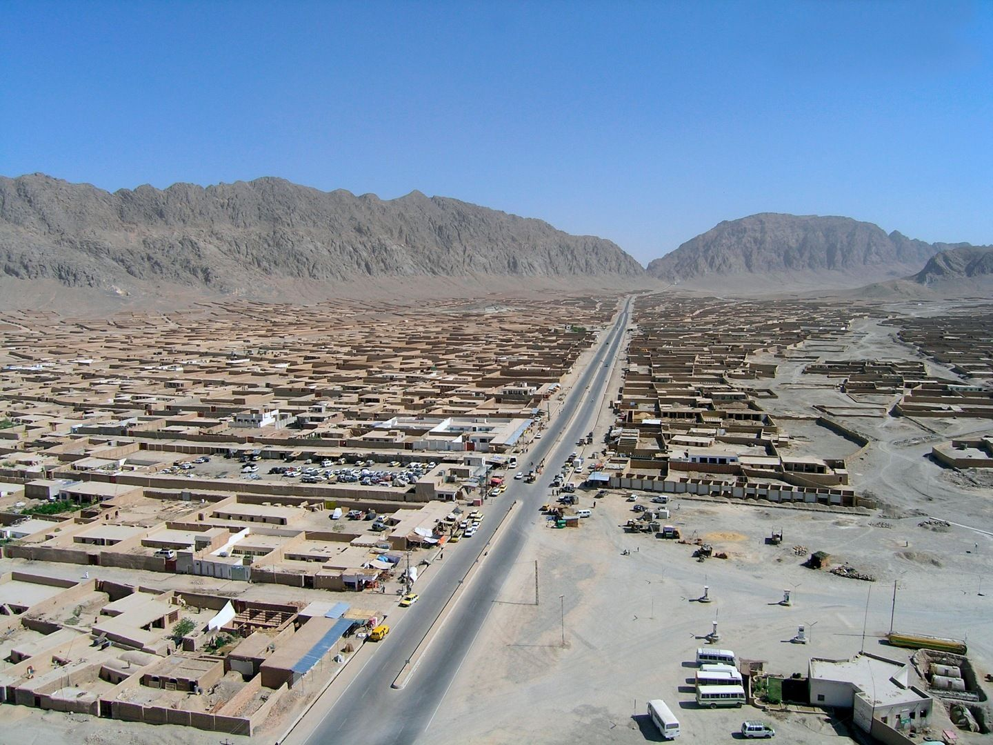 Kandahar, my home for a year. Afghanistan, Places to