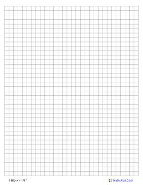 8 to the inch graph paper