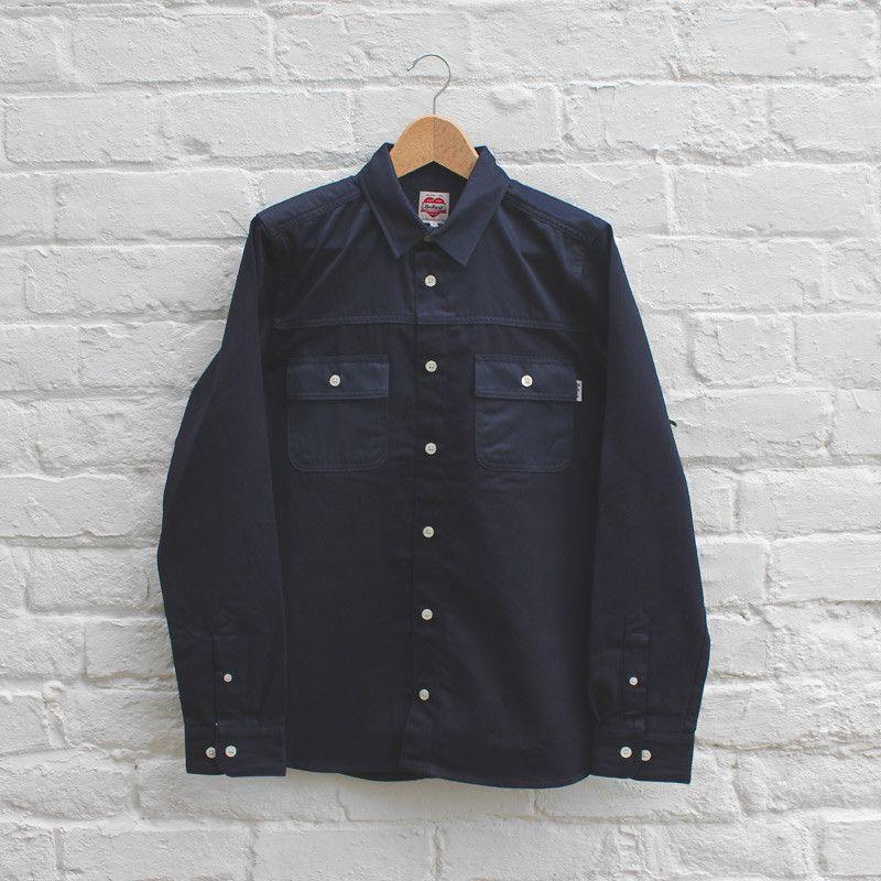 Carhartt Heritage Jay Shirt - Navy Rigid - £119.99