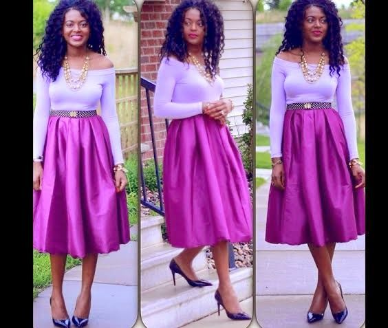 life is too short to wear boring clothes......trends of skater skirt....