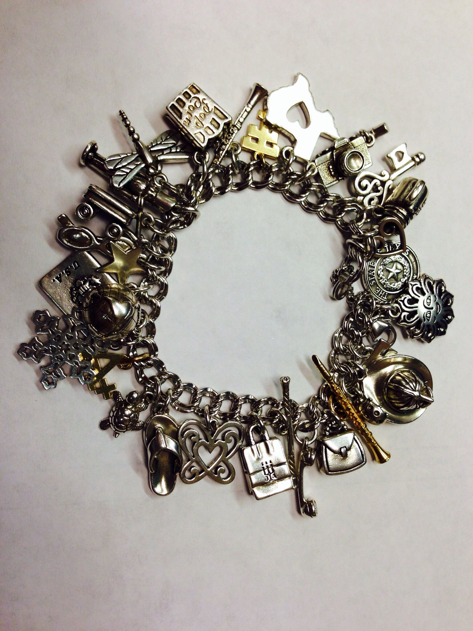 My James Avery Charm Bracelet  I've Been Collecting Them Since The 6th  Grade