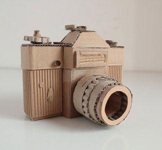 Cardboard Zenit-E / Oupas Design