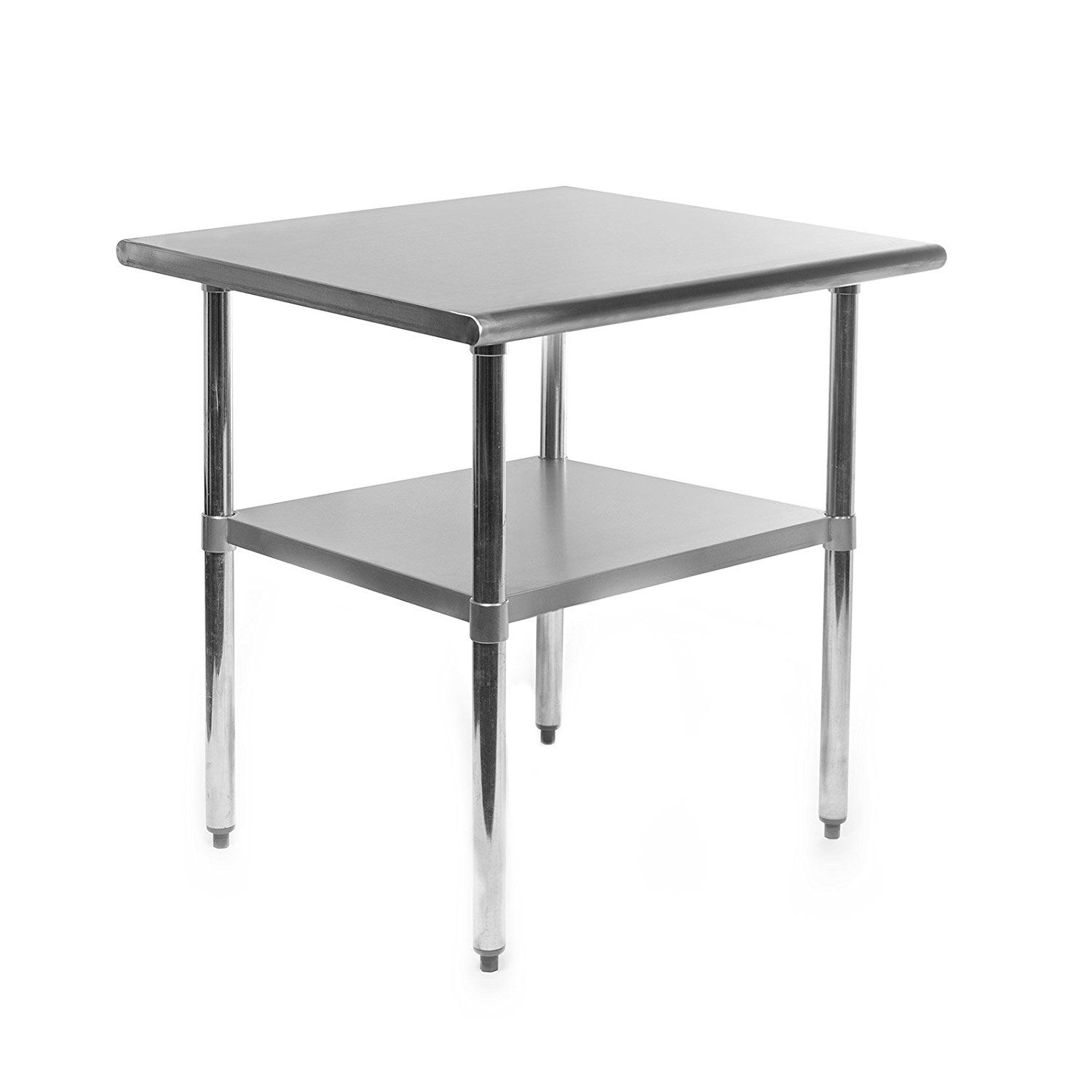 Restaurant Kitchen Work Tables kitchen: durasteel height work table stainless steel food prep