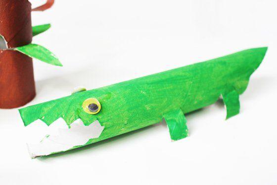 Basteln mit Klorollen: Lustige Tiere