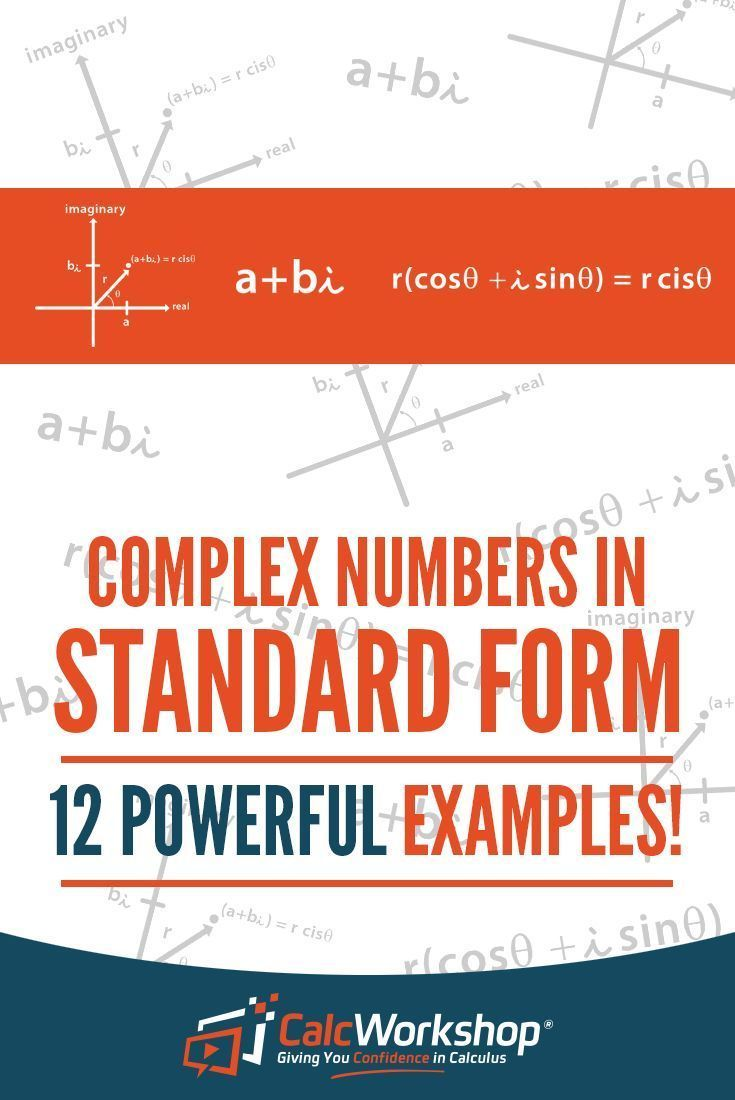 What are complex numbers an introduction with 12 examples complex numbers in standard form powerful video lesson on representing sketching and performing falaconquin