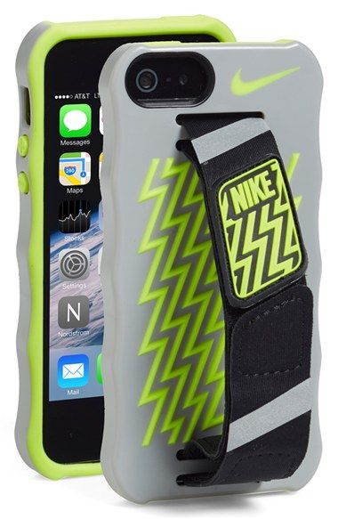 Nike Hand Strap iPhone 5 & 5s Case (With images)   Cute phone ...