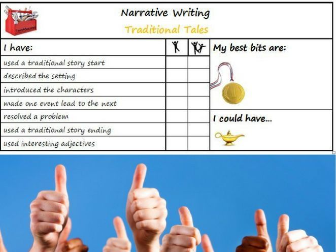005 Traditional Tales Tools for Success Criteria & self/peer