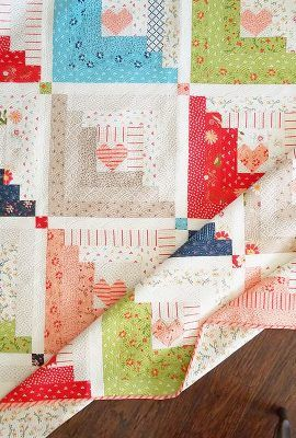 Jelly Roll Quilt Patronen.Hearts At Home Jelly Roll Quilt Pattern Sy Quilts Og