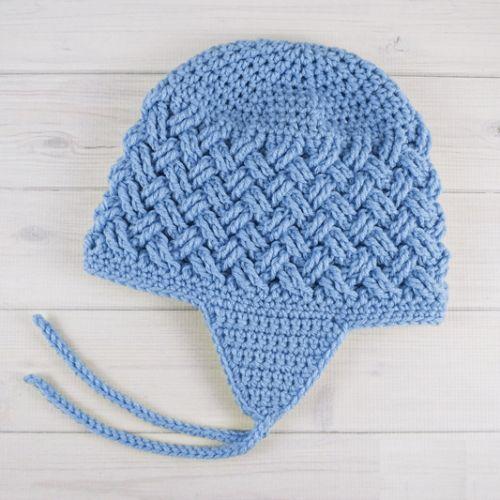 Celtic Dream Earflap Crochet Hat - Free Pattern (Beautiful ...