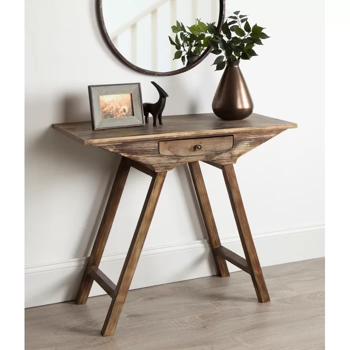 Pringle Chic Small Wooden Console Table In 2020 Small Console Tables Wooden Console Table Wooden Console
