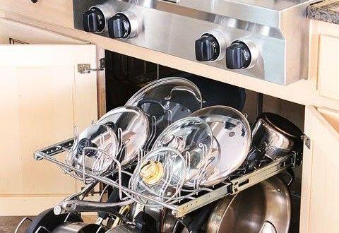 أفكار لترتيب الأواني بالمطبخ بالصور