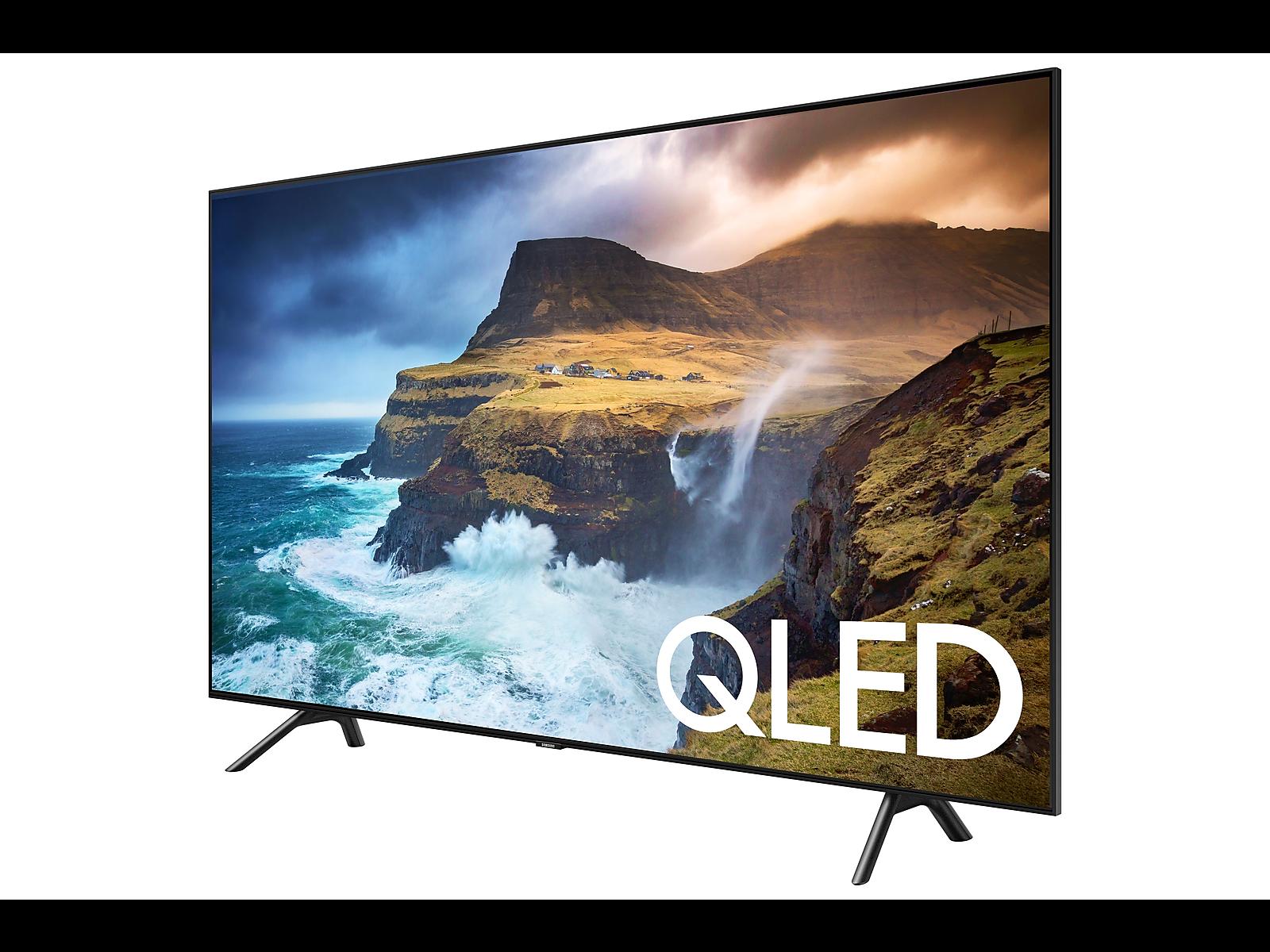 "55"" Class Q70R QLED Smart 4K UHD TV (2019) Samsung smart"