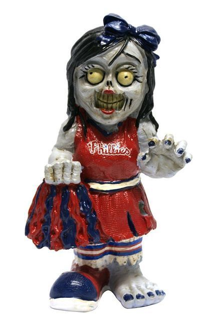 Philadelphia Phillies Zombie Cheerleader Figurine Z157-8784925756
