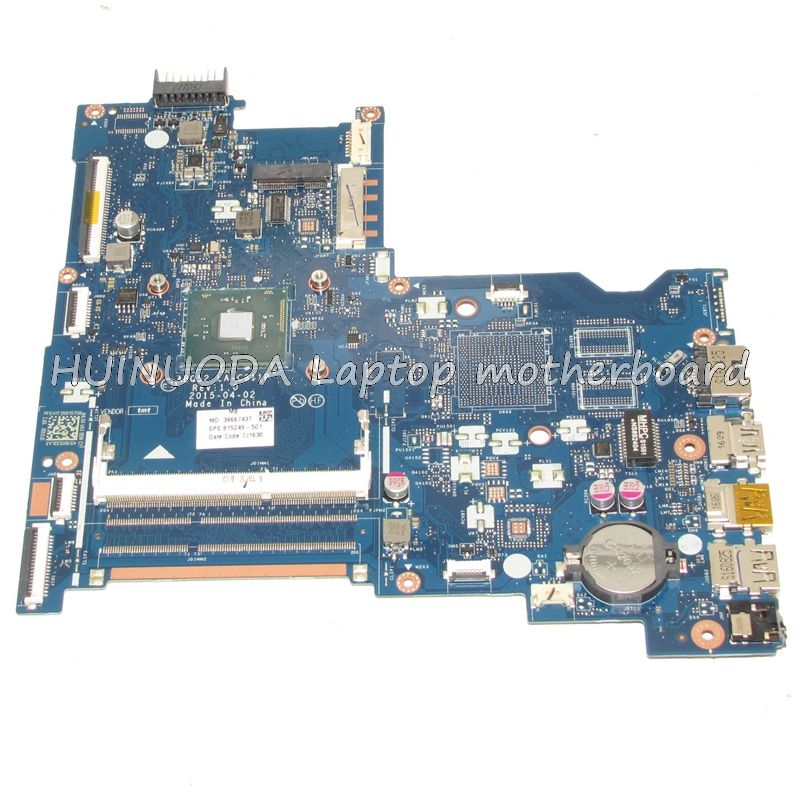 Original 815249 501 815249 001 Abq52 La C811p Laptop Motherboard For Hp 15 Ac N3150 Cpu Mainboard Works Laptop Motherboard Motherboard Computer Components
