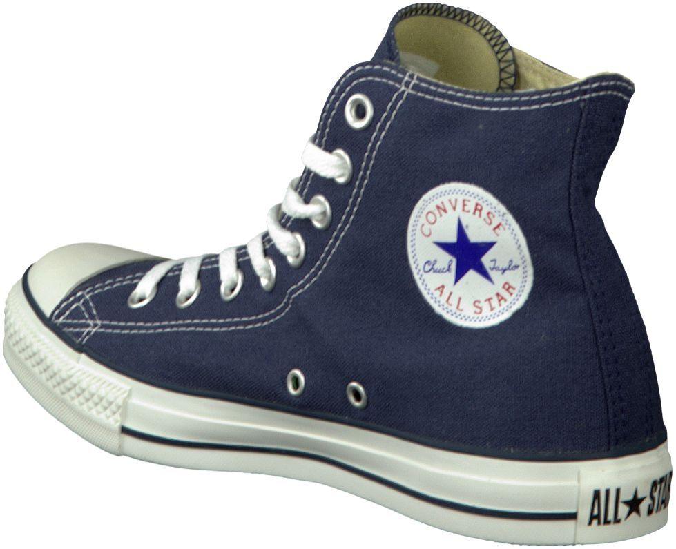 blauwe converse sneakers