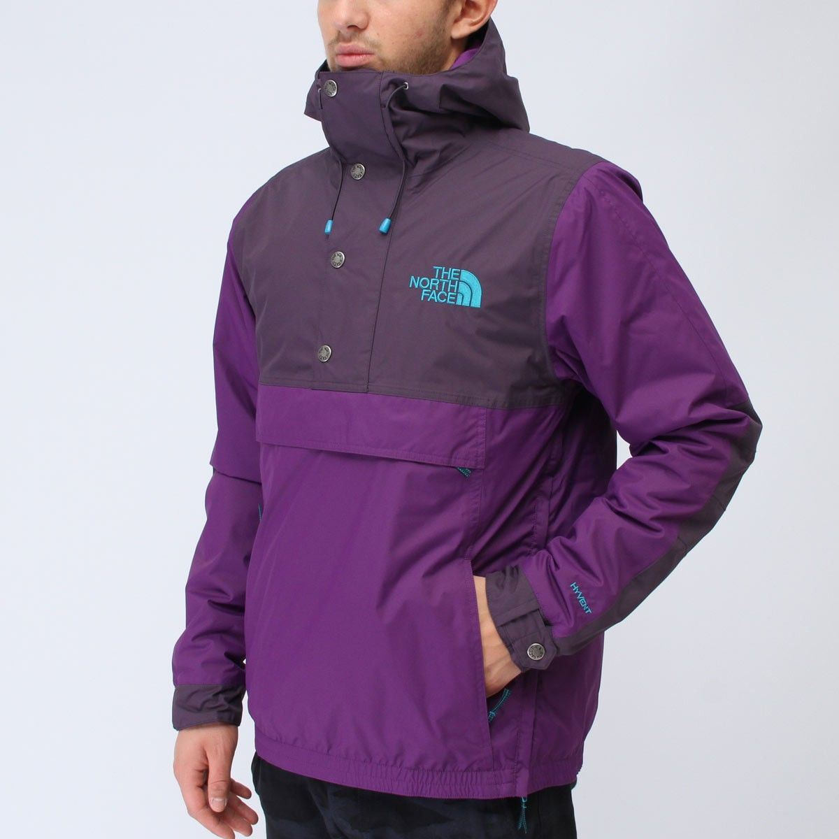 The North Face Rage Mountain Anorak Gravity Purple Anorak The North Face Mens Outfits [ 1200 x 1200 Pixel ]