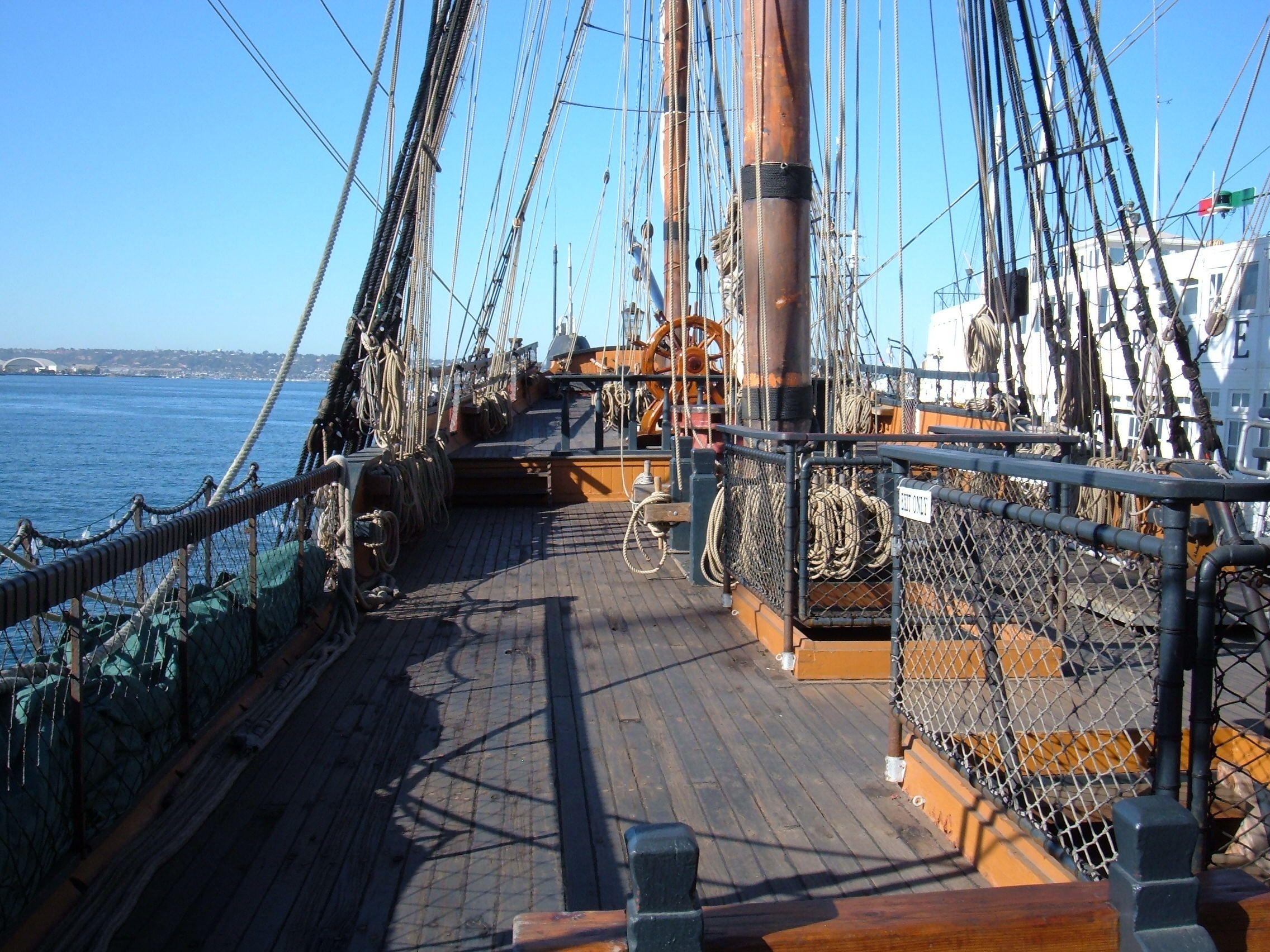 ship deck ships pinterest sailing ships