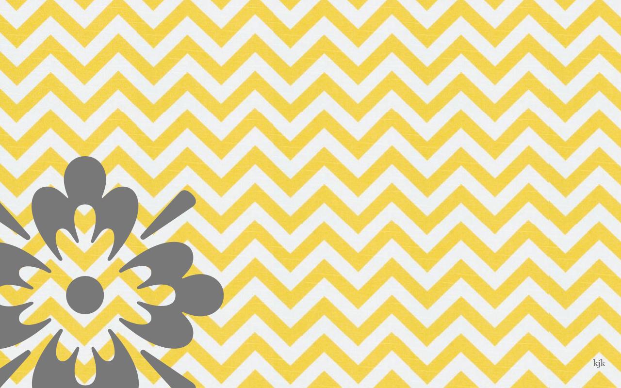 Yellow Gray Desktop Wallpaper Chevron Wallpaper Wallpaper Desktop Wallpaper