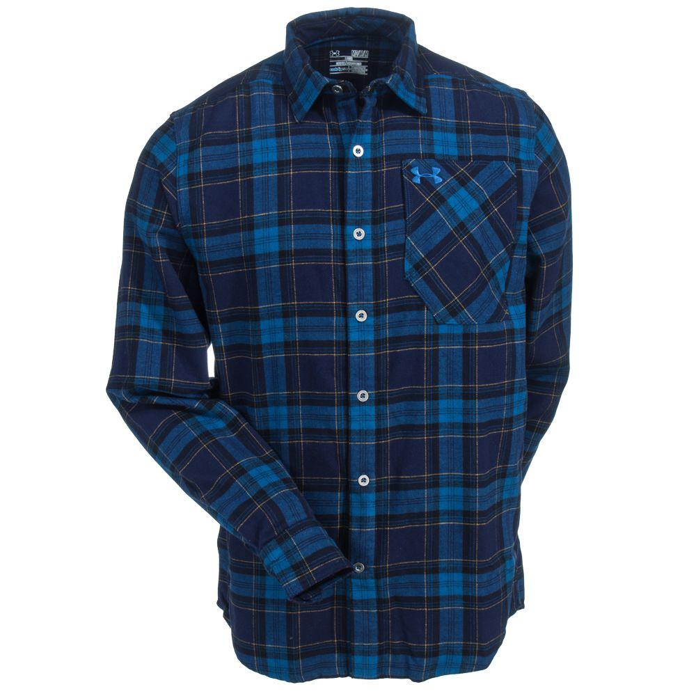 clients first best loved shop for original Under Armour Men's 1279839 458 Flannel Deep Sea Blue ...