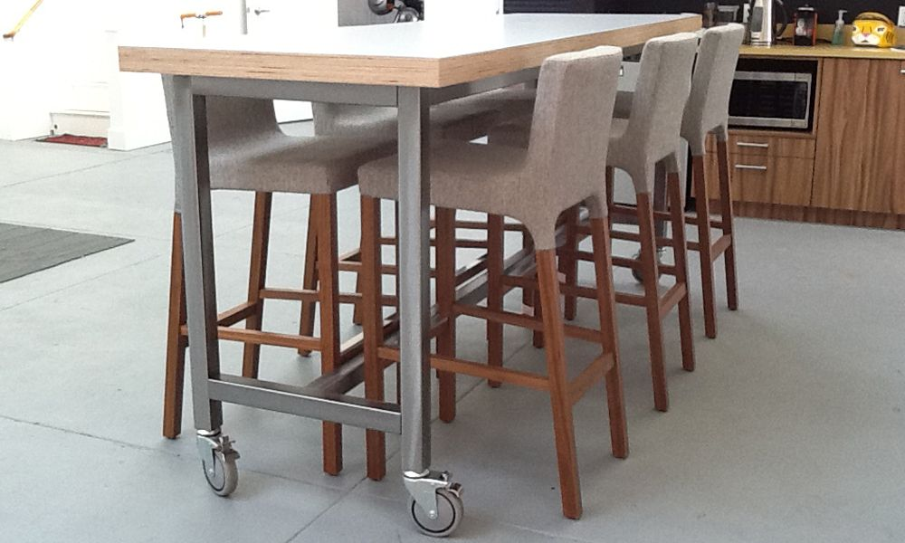 STANDING HEIGHT TABLES Office Inspirations Pinterest - Standing height meeting table