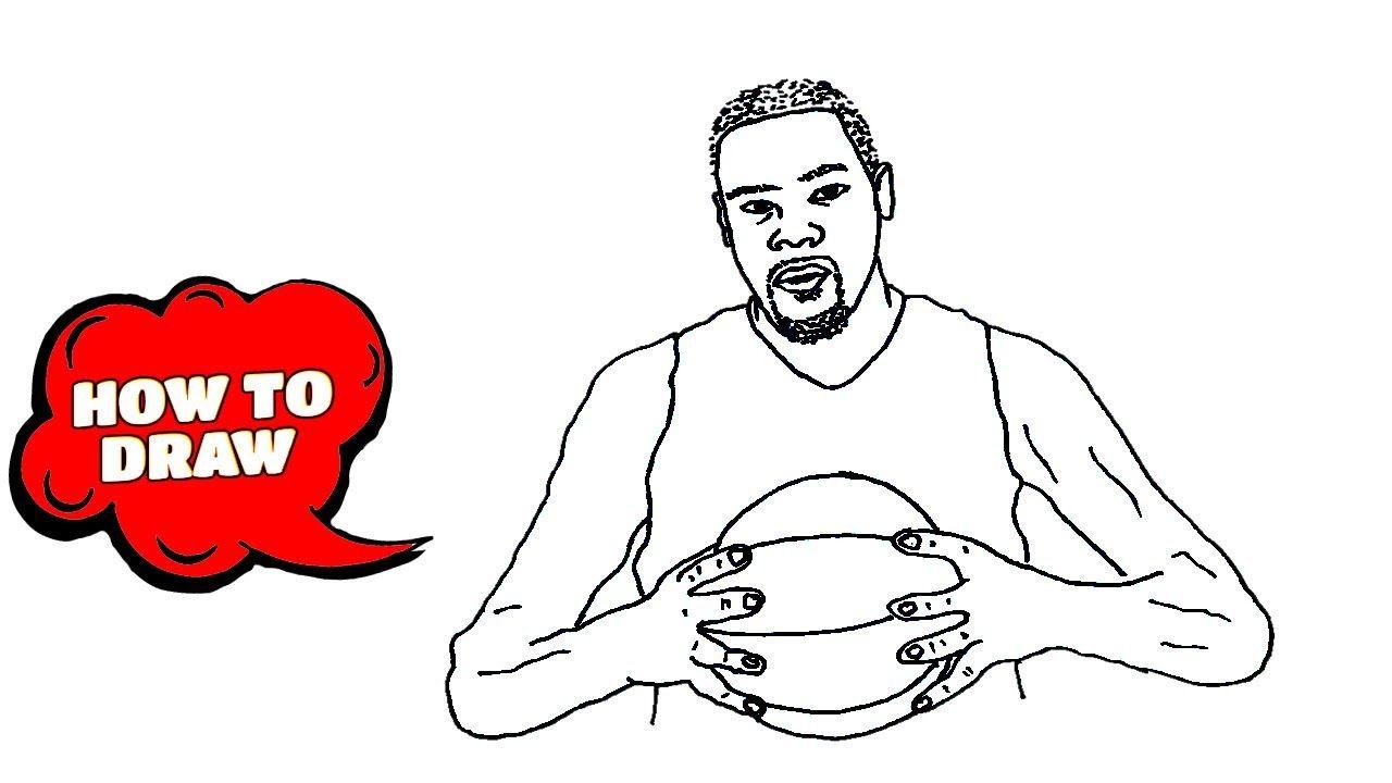 Kobe Bryant Drawing How To Draw Kobe Bryant Kobe Bryant Cartoon