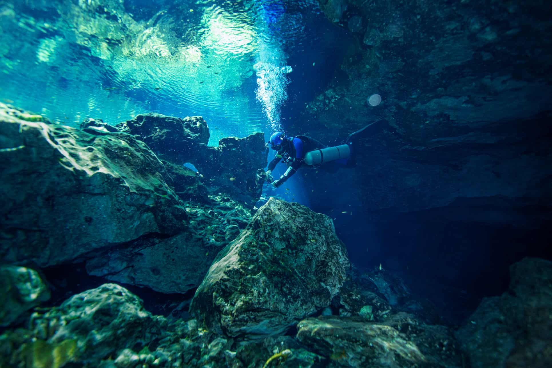 'Swimming Into The Unknown:' Mexico's Unmapped Underwater