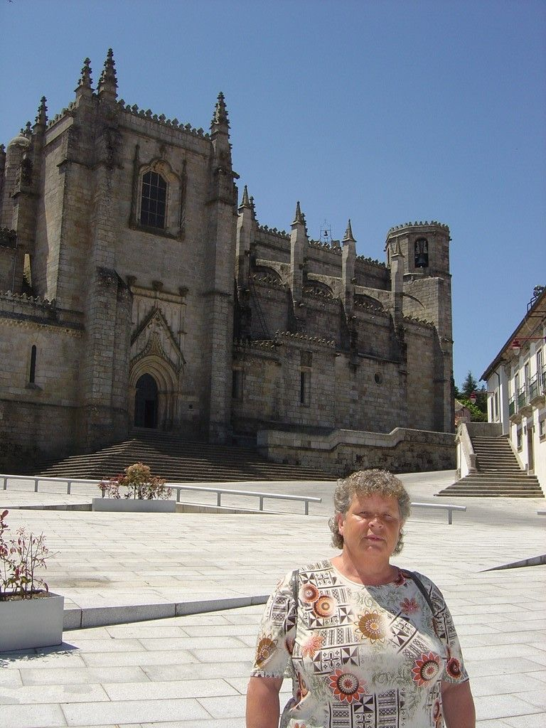Guarda, Portugal - Sé Catedral - The 'Se' is one of Portugal's many interesting buildings. This granite-walled building was a long time in the making, taking 150 years to build from start to finish (1390-1540)