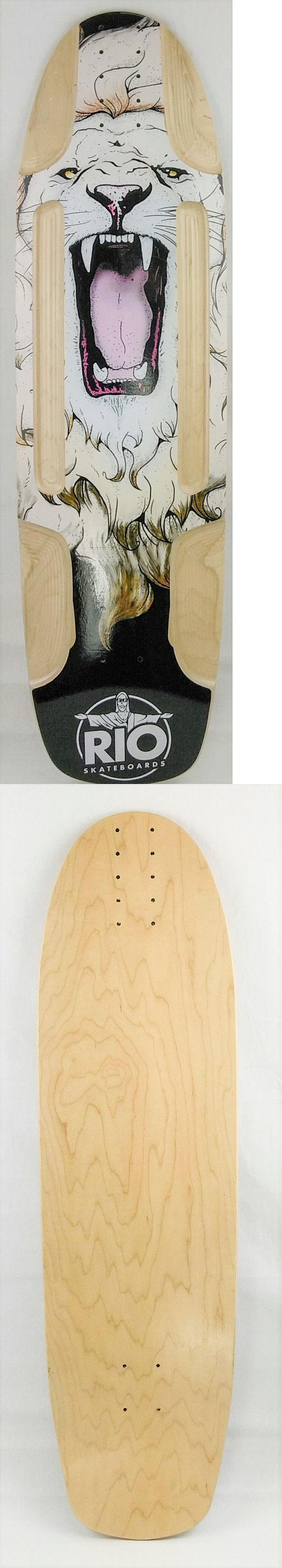 Decks 165944: Longboard Freeride Cruiser High Quality Skateboard 8Ply, 9.5 X 34 Lion D08 -> BUY IT NOW ONLY: $34.99 on eBay!