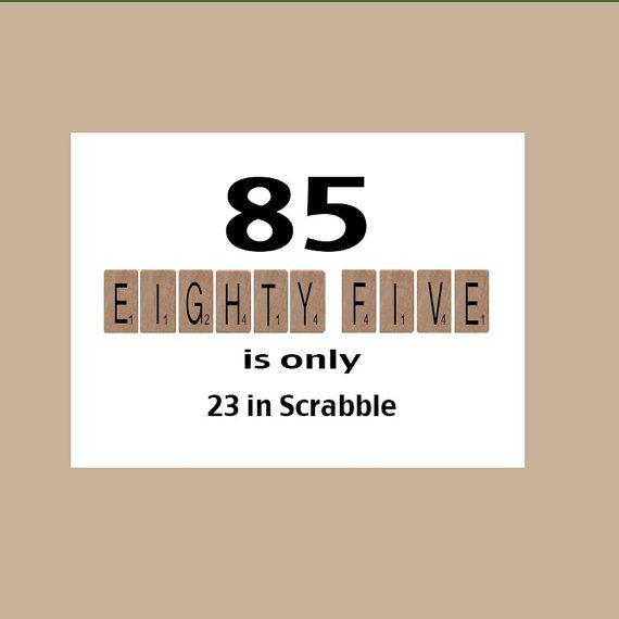 Geburtstagskarte, 85. Geburtstag, Meilenstein Geburtstag, Der Große 85,